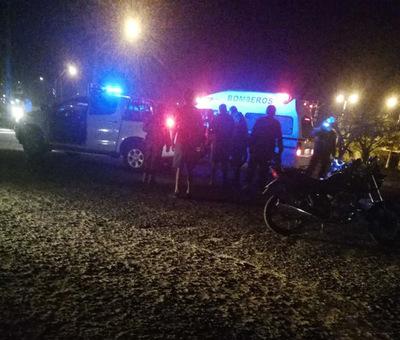 Fatal accidente de tránsito en Horqueta