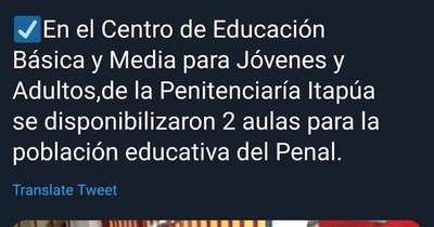 Pifiada en redes del ministerio de Eduardo Petta