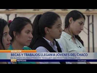 MINISTERIO DE TRABAJO EN ALIANZA CON COOPERATIVAS DEL CHACO IMPULSAN OPORTUNIDAD PARA JÓVENES