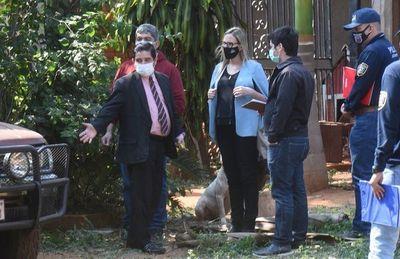En allanamiento encuentran  rodado clonado en la  casa de un abogado