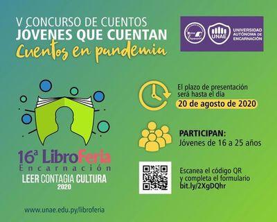 """Invitan a jóvenes a participar de concurso """"Cuentos en pandemia"""""""