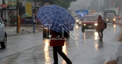 Pronostican miércoles fresco con lluvias dispersas y ocasionales tormentas