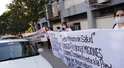 Funcionarios de los consejos de Salud se manifestarán este miércoles frente al Ministerio de Hacienda