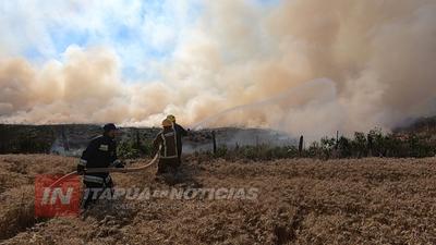 AUMENTAN INCENDIOS FORESTALES EN TODO EL DEPARTAMENTO