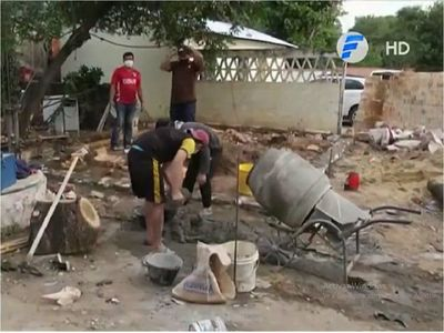 Reclusos de la Comisaría de Limpio construyen su propio calabozo
