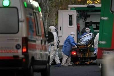 Argentina: se registraron otras 84 nuevas muertes por coronavirus en las últimas 12 horas