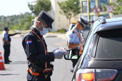 Policía reanudará controles durante cuarentena