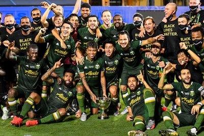 Cristhian Paredes es campeón de la MLS con el Portland Timbers