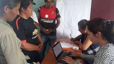 Casa de Justicia Móvil llega a Comunidad Indígena