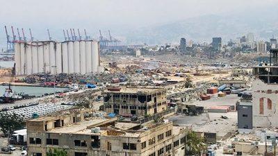 Beirut: Tras explosión más de 600 edificios históricos fueron afectados y 70 están en riesgo de derrumbe