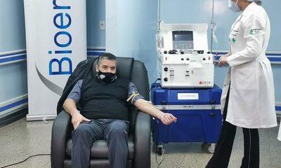 Tercer donante de plasma en Alto Paraná