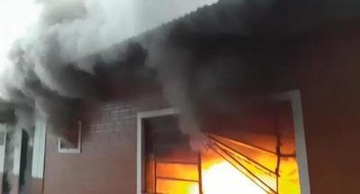 Reportan incendio en Unidad de Salud de Raúl Arsenio Oviedo – Prensa 5