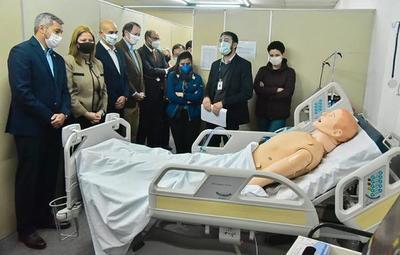 Abdo participó de capacitación para uso de respiradores