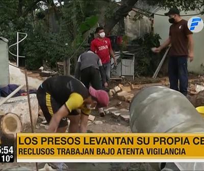 Presos construyen su propia celda en Comisaría de Limpio