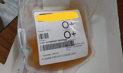 Dos pacientes con covid-19 reciben tratamiento vía plasma