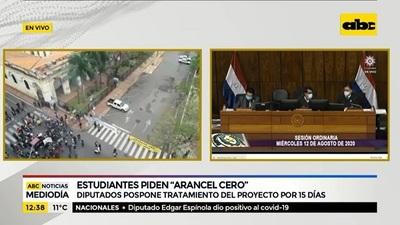 Diputados aprueban Arancel Cero, pero aplazan estudio