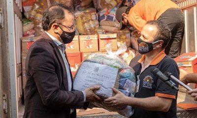 Continúa la distribución de cestas básicas en escuelas de CDE