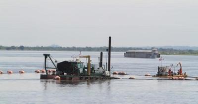 Crítica bajante de los ríos amenaza abastecimiento de bienes