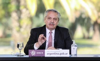 HOY / Alberto Fernández felicita a Putin por registrar vacuna contra COVID-19
