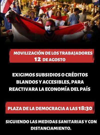 """Anuncian para hoy """"Gran Movilización"""" de comerciantes y trabajadores informales"""