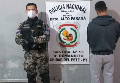 Grupo Lince apresa a hombre con orden de captura por robo