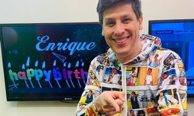 ¡Felicidades, Enrique Pavón!