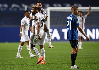 Épica remontada del PSG ante el Atalanta para ir a 'semis' de la Champions