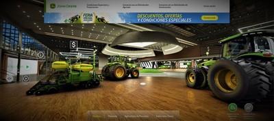 Feria Original Automaq John Deere sorprende con plataforma digital y experiencia 3D