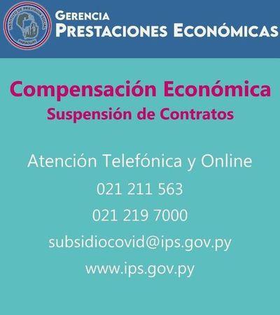 Confirman un caso de COVID-19 en oficina de Prestaciones Económicas de IPS