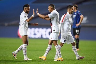 PSG remonta en tres minutos ante Atalanta y es semifinalista de Champions League