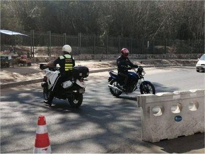 Detectan un caso positivo de Covid-19 en la PMT de Asunción