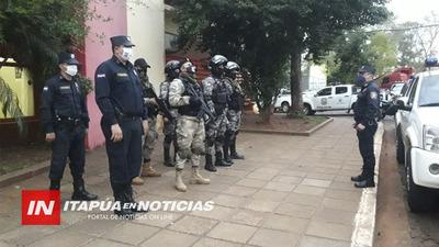 POLICÍAS VUELVEN A LAS CALLES ANTE INCUMPLIMIENTO DE MEDIDAS DE SALUD