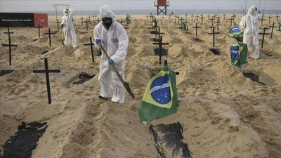 Brasil registra 1.175 nuevas muertes por Covid-19 y el total llega a 104.201