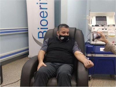 Covid-19: Médico insta a salvar vidas con la donación de plasma