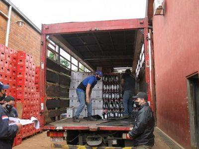 Incautan una gran cantidad de productos de contrabando en Villarrica