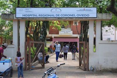 Dos fallecidos por COVID-19 en Hospital de Coronel Oviedo