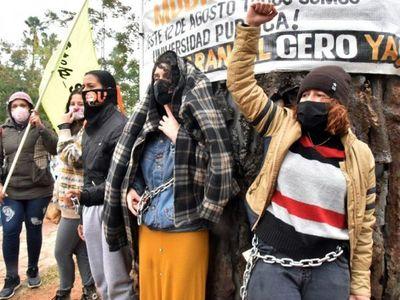 Universitarios exigen no modificar  arancel cero, tras la postergación