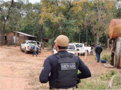 El Estado toma posesión de cinco estancias del narco Cabeza Branca