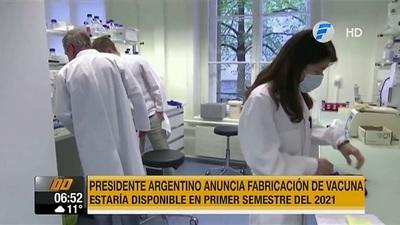 Argentina y México producirán vacuna contra el Covid-19 para Latinoamérica