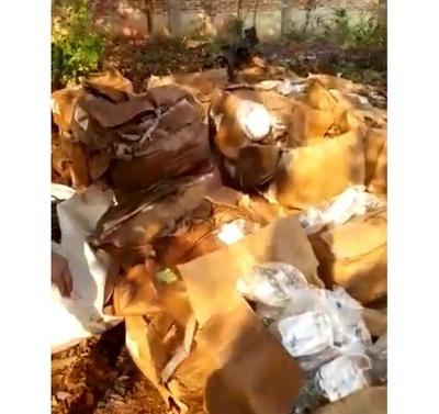 Fármacos abandonados en Ciudad del Este serán enviados a laboratorio de INTN para evaluar si aún sirven