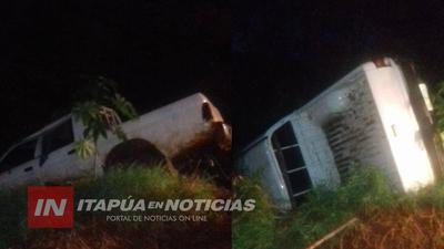 FRAM: ACCIDENTE DE TRÁNSITO DEJA SOLO DAÑOS MATERIALES.
