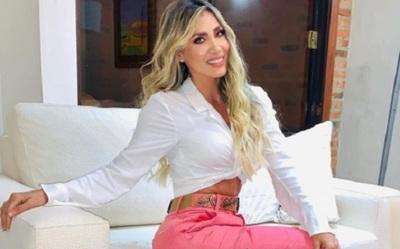 Susana Coronel apagó su velita número 36