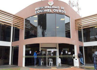#Ahora CONFIRMAN CASO POSITIVO EN LA MUNICIPALIDAD DE CORONEL OVIEDO