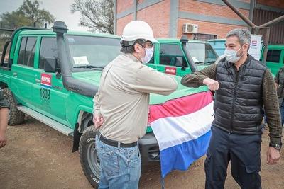Refuerzan suministro eléctrico en el Chaco con nuevas obras y vehículos