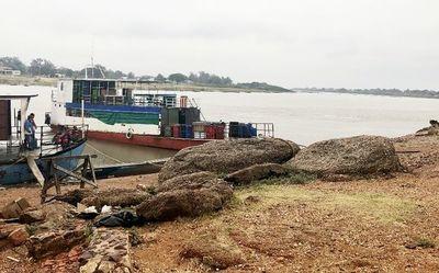 Concepción: Nivel del río Paraguay baja 16 centímetros