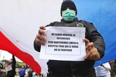 Funcionarios del Hospital de Trauma exigen pago de gratificación – Prensa 5