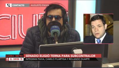 HOY / Augusto Paiva, ternado para subcontralor general de la República