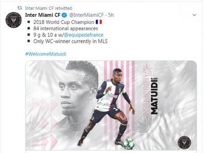 El Inter de Beckham compra a Matuidi