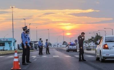HOY / Reforzarán presencia policial este fin de semana para evitar aglomeraciones