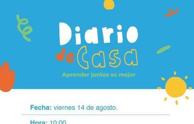 """UNICEF y Ministerio de la Niñez presentarán """"Diario de Casa"""""""